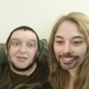 creepy snapchat face swap